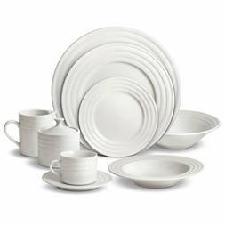 0  Contour 65 Piece Dinnerware Set, Service for 12