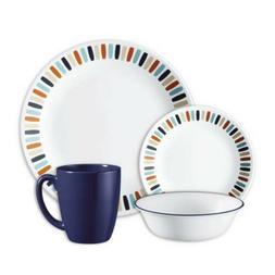 Corell 1127445 LIV Livingware Dinnerware Set - Payden44; 16