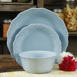 12-Piece Dinnerware Lace Set Quality and Durable Dishwasher