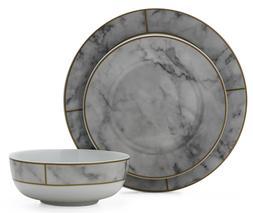 12 Piece Dinnerware Set Home Porcelain Dishes Kitchen Fancy