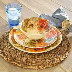 Members Mark 12-Piece Melamine Dinnerware Set - Fall Harvest
