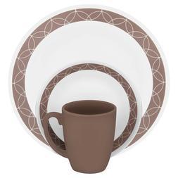 Corelle 16-pc. Dinnerware Set - Sand Sketch New