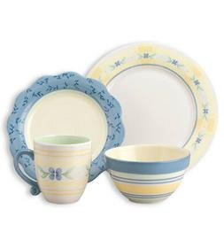 Pfaltzgraff 16 Piece Dinnerware Set, Service for 4 Summer Br