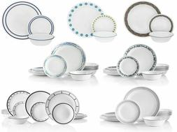 Corelle 18-Piece Service for 6 Chip Resistant Dinnerware Set