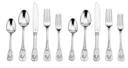 20 piece flatware set french rooster