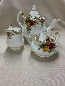 Royal Albert 3-Piece Tea Set