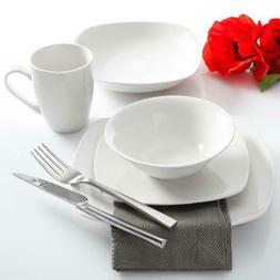 Liberty Hill 30-Piece Dinnerware Set White Dining Entertaini