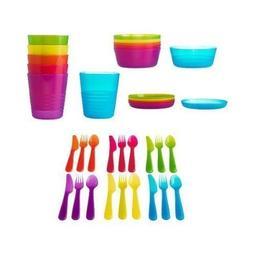Ikea 36-piece Dinnerware Set, Assorted Colors