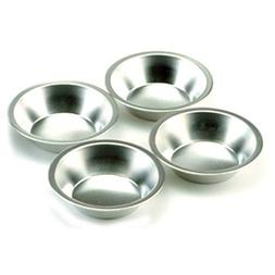 Norpro 3711 Nonstick Tin Pie Pans Quiches Tarts, 4 Piece