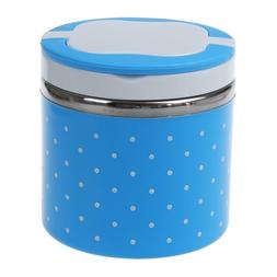 1Layers Thermal Bento Lunch Box Thermos For Food Stainless S