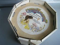 3pc Vintage Denby DREAM WEAVERS Children's Stoneware Dishes: