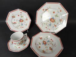 4 coronation imari 5 pc place settings
