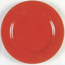 4 Factory Red Cherry Waechtersbach Germany Dinner Plates 10