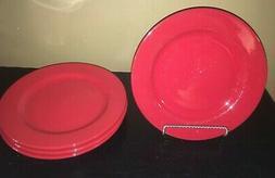 """Waechtersbach FUN FACTORY FREESTYLE RED 11"""" Dinner Plates *"""