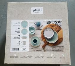 Denby 4-Pc. Azure Blends Dinnerware Set