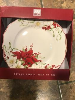 222 FIFTH 4 WINTER HARMONY FLORAL CHRISTMAS HOLIDAY DINNER P