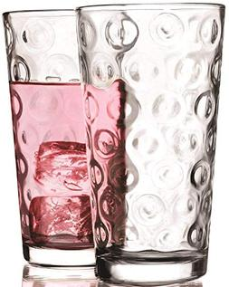 Circleware 40186 Circle Set of 10-15.75 oz Highball Tumbler