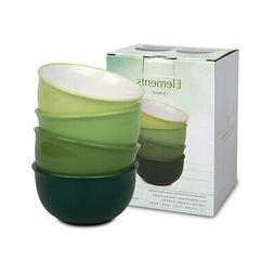 Waechtersbach - 4er cereal set - Elements - Jungle - green -