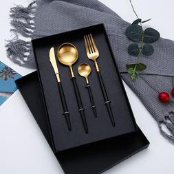 Hot Sale Dinner <font><b>Set</b></font> Cutlery Knives Forks