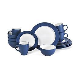 Pfaltzgraff 5131070 Harmony 16 Piece Dinnerware Set , Cobalt
