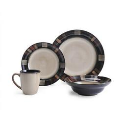 Pfaltzgraff 5136444 Tahoe Dinnerware Set, Assorted