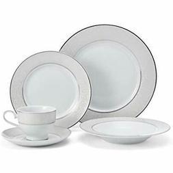 Mikasa 5224232 Parchment White 40-Piece Dinnerware Set, Serv