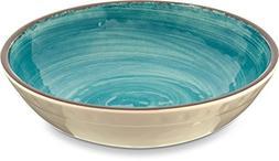 Carlisle 5401915 Mingle Melamine Cereal Bowl, 35.5 oz, Aqua