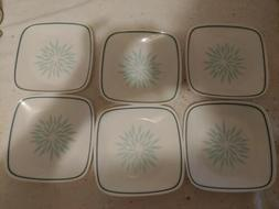 "Corelle 6.5"" DAHLIA set of 6 BRAND NEW Bread and Butter Plat"