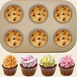 6 cups cake carbon steel