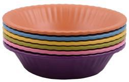 6 piece 100 percent melamine bowl set