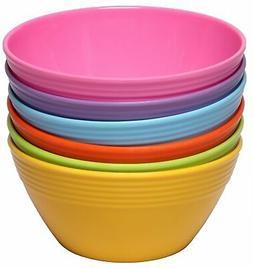 Melange 6-Piece  Melamine Bowl Set    Shatter-Proof and C...