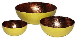"Matsuta 608410099555 Cuvier, Set of 3 Bowls - 6"", 9"" & 12"","