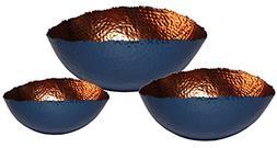 "Matsuta 608410099913 Cuvier, Set of 3 Oval Bowls - 6"", 9"" &"