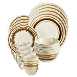 American Atelier 6587-16rb 16 Piece Romy Round Dinnerware Se