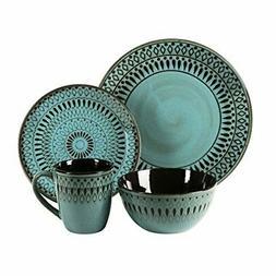 American Atelier 6588-16rb 16 Piece Delilah Round Dinnerware