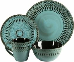 American Atelier 6588-16rb 16 Piece Delilah Round Dinnerware