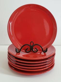 Waechtersbach 7 RED Fun Factory Lunch / Dessert Plates Excel