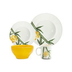 Oxford Porcelain 7891361975181 Tropical Biona Piece Dinnerwa