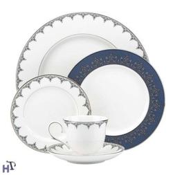 Lenox 837595 Jeweled Saree Platinum, 5 Piece Place Setting