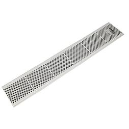 Amerimax 85370 50 Pack 3' White Plastic Gutter Guards