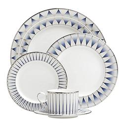 Lenox 869065 5 Piece Geodesia Place Setting Dinnerware Set,