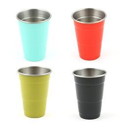 """Fiesta 93568NFSR Party Cups, 16"""", Multi"""
