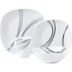 Gibson 94704.16 16 Piece Dinnerware Set For 4