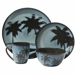 99815 16r sunset dinnerware set