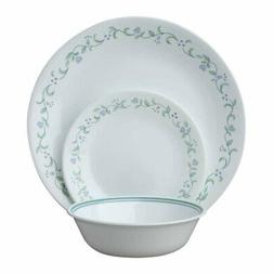 Corelle Livingware 18-Piece Dinnerware Set, Country Cottage,