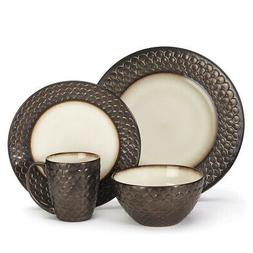 Cuisinart Stoneware Anais Collection 16-Piece Dinnerware Set