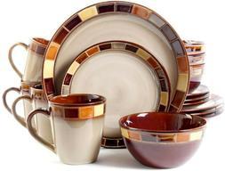 Gibson Casa Estebana 16-piece Dinnerware Set Service for 4 B