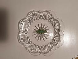 Godinger Crystal Dublin Canape Plates, Set of 4