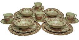 Johnson Bros. Dinnerware, Old Britain Castles 20-Piece Set