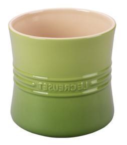Le Creuset Stoneware 2 3/4-Quart Utensil Crock, Palm